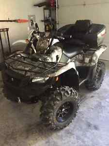 2016 750 kingquad to trade for side x side.