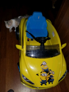 Minion power wheels for one