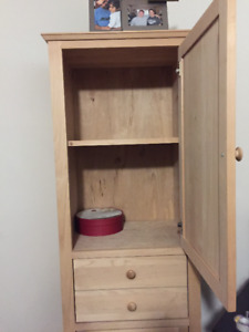 Unfinished solid wood Pantry