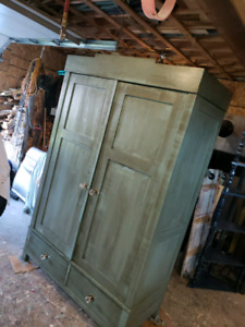 GIANT ANTIQUE ARMOIRE FROM GERMANY