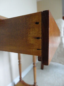Vintage Solid 100% Country Wood End Table - In Excellent shape Kitchener / Waterloo Kitchener Area image 9