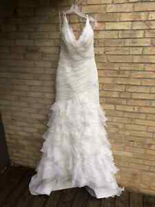 New wedding dress, never worn, Pronovias Galante Stratford Kitchener Area image 1
