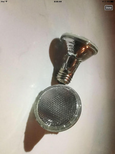 Par 20 bulbs - barely used - i have 60