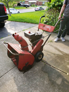 Old snow blower ( does not start )