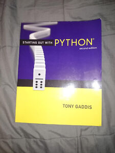 Starting Out With Python 2nd Edition Kitchener / Waterloo Kitchener Area image 1
