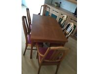Dining Table and chaire