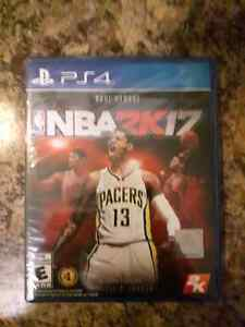 NBA 2K17. Brand New In Package. PS4 $50