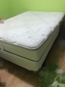 Double bed+BOX, lamp, printer, end table, storage and others