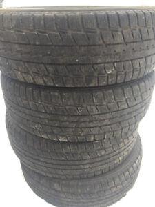 4 winter tires mark dunlop 205/60R15 99$