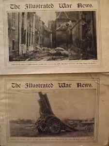 TWO COPIES OF THE ILLUSTRATED WAR NEWS FROM 1914- WWI Peterborough Peterborough Area image 3