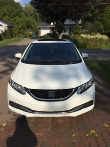 2015 Honda Civic EX - Lease Takeover - VERY low KMs