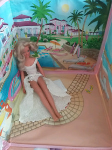 Barbie Beach House With Barbie Doll