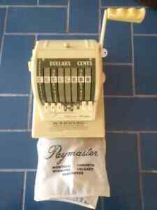 Genuine as new Paymaster cheque/check writer.