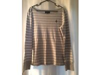 Ralph Lauren stripe top L