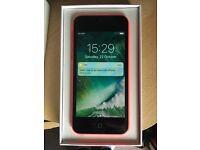 Apple iPhone 5c pink 16gb vodaphone