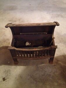 CAST IRON ANTIQUE Electric FIREPLACE INSERT