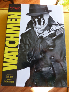 Watchmen Portraits Book by Clay Enos