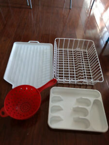 Dish drying rack - Tray / Spoon tray / vegetable basket