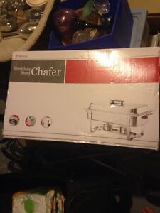 Stainless Steel Heated Serving Tray / Chafer