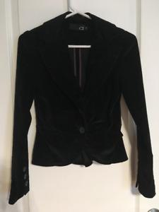Veston noires, jeans  - XSMALL pour femme ou ado
