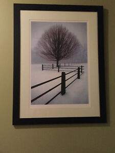 SOLITUDE FRAMED PICTURE