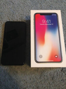 iphone x 64 gb - black sell or trade for 8plus plus cash