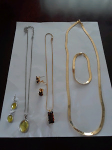 3 sets of fashion jewellery $10 each set or best offer