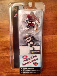 McFarlane 2004 3-inch Figures - Theodore and Kovalchuk