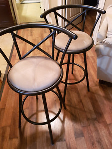 Two Bar Stools for Sale - 60$