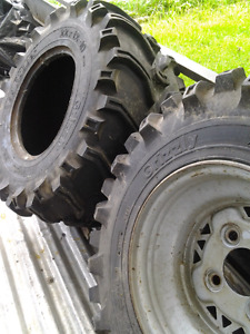 Atv tires 22×12-10 Grizzly $50 each or best offer