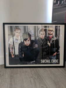 Social Code - Signed Poster