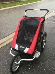 Chariot Cougar 2 Jogging Stroller and Bike Trailer
