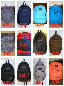 Jansport Back Packs ( Pick up   Only  )