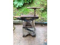 Old blacksmiths anvil