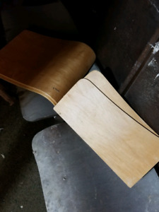 Bent wood replacement backs and seats