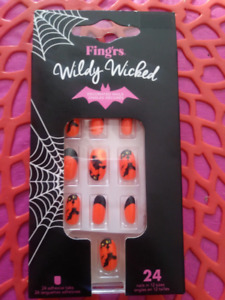Halloween Decorated Nails/Ongles Décorés Wildy Witched