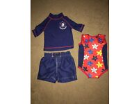 Baby Swimming Suit/Set