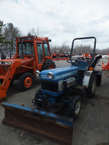 Used Ford 1210 Tractor, Angle Blade, Snowblower
