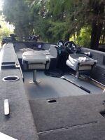 Legend boat xgs 16' fully loaded