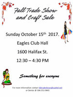 Fall Trade Show and Craft Sale