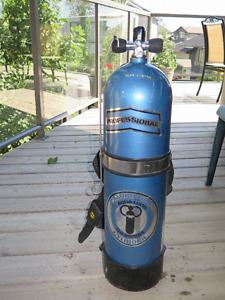 Scuba Gear, Regulator, Open Water BC, Gauges, Scuba Tank