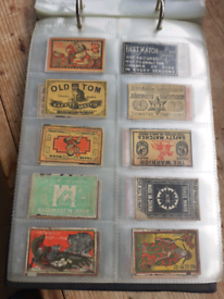 Large Collection Of Matchbox Covers Labels Phillumeny