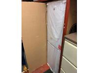 Brand new in the box tall white Hoover fridge freezer £280