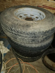 Ford F250 Rims and tires