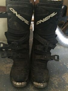Oneal size 9 Dirtbike boots