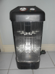 Quartz Radiant Heater - 1500 Watts Radiant Heat