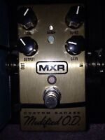 MXR modified overdrive