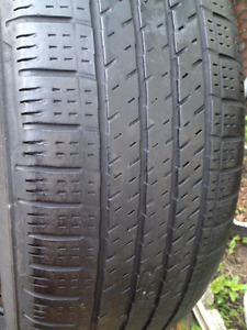 Set of 4 Continental Summer tires 225/60/17
