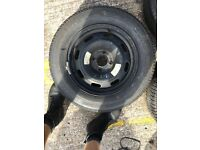 Peugeot 307 308 406 408 steel wheel with great tyre 195/65/15 * Bootle *