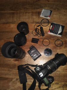 Nikon D7000 Camera, 4 Lenses, Filters and extra Battery
